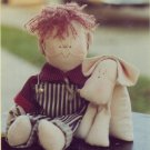 Twice as Nice Patterns ~ Billy & Bernard Soft Sculptured Doll with Puppy