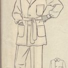 Butterick #5179 Mens Pajamas Pattern sz 38 c. 1930s