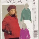 McCalls M5711 Womans Jacket Sz 6-8-10-12-14