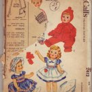 McCalls #2412 Baby Toddler Wardrobe Pattern