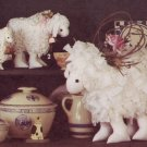 Simplicity 7706 Buttermilk Creek Toy Stuffed LAMBS in 3 Sizes