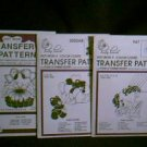 Vintage Hot Iron Transfer Patterns for Punch Embroidery ~ Unicorns, Teddy Bears / Balloons, Baskets