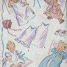 Vintage Simplicity #2342 Infant Layette c.1950