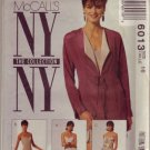 McCall NY Collection Pattern #6013 Sheath & Jacket Misses Sz 16