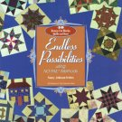 Endless Possibilities Softcover by Nancy Johnson-Srebro - Rotary Cut Blocks