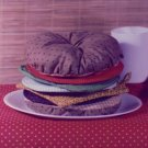 HAMBURGER SHAPED Oven Pads from the Pattern Shoppe