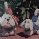 Krafdee & Co Patterns - Scraps & Snippers Cute Stuffed Dogs