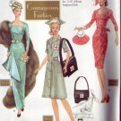 Simplicity #9773 Barbie Courages Forties Pattern