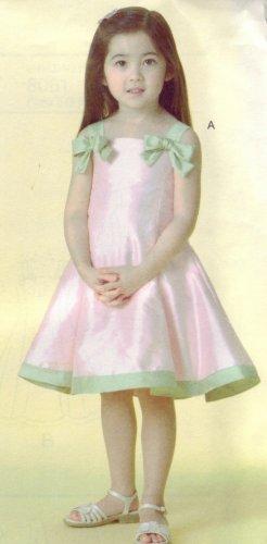 Vogue For Me #V8061 Little Girls Dress Sz 2-3-4