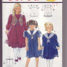 Burda #5020 Girls Dress Pattern Sz 4 - 6 - 8