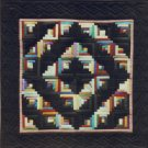 Quilt Pattern ~ Little Log Cabin Miniature Quilt Pattern