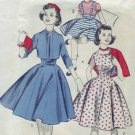 1950s Advance Pattern #8410 Size 12 Girls Jumper & Jacket