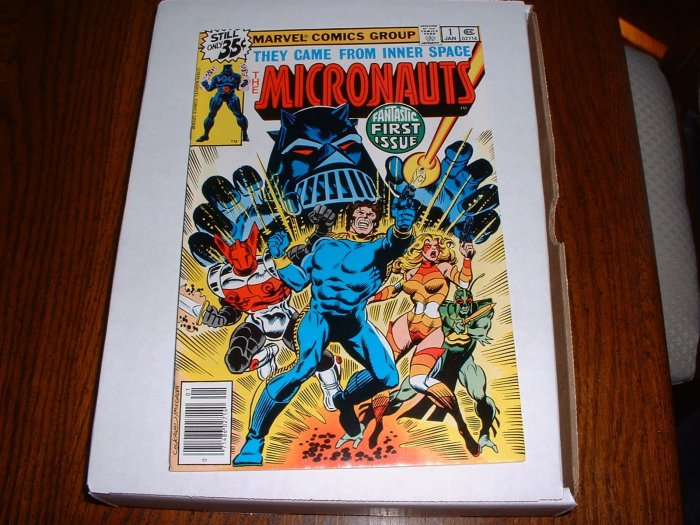 MICRONAUTS # 1..NM-..(9.2)..1979 Marvel comic book-g
