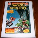 SWORD of SORCERY # 1..VF..(8.0).1973  DC comic book-e