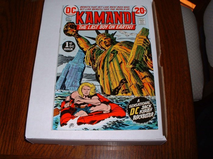 KAMANDI # 1..VF..(8.0)..1978 DC comic book-C