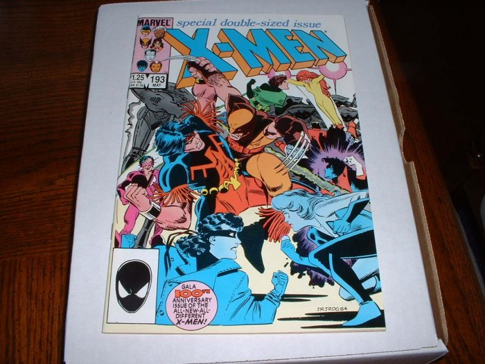 X-MEN # 193..(9.4)..NM ..1985 giant Marvel comic book-e