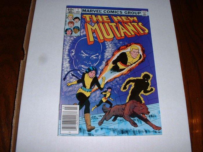 NEW  MUTANTS # 1..(9.2)..NM-...1983 Marvel comic book-ge