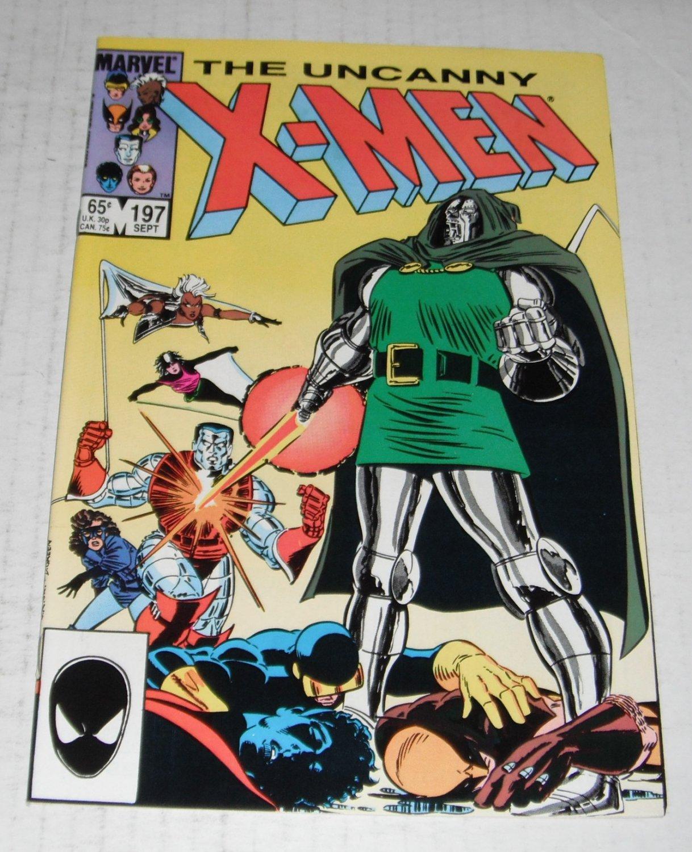 X-MEN # 197..(9.4)...NM ..1985 Marvel comic book-e