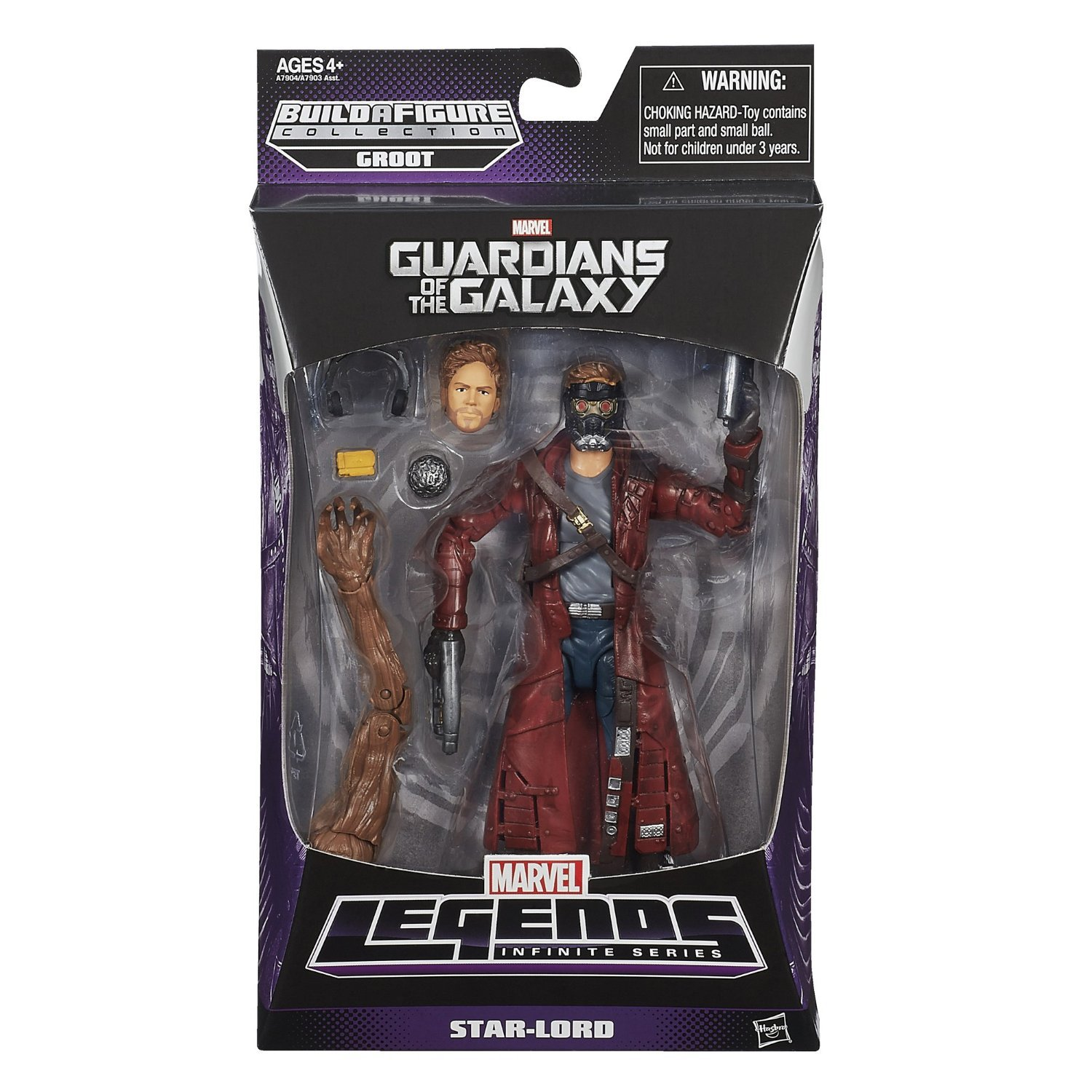 Marvel Guardians of The Galaxy Star-Lord Figure, 6-Inch