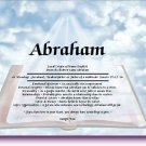 Scripture Personalized Gift First Name Meaning Print