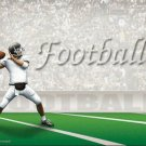 Football #PT Personalized Gift First Name Meaning Print