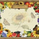Garden #PT Personalized Gift First Name Meaning Print