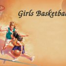 Girls Basketball #PT Personalized Gift First Name Meaning Print