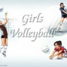 Girls Volleyball #PT Personalized Gift First Name Meaning Print