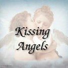 Kissing Angels #PT Personalized Gift First Name Meaning Print