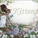 Kittens #PT Personalized Gift First Name Meaning Print