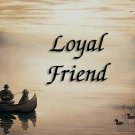 Loyal Friend #PT Personalized Gift First Name Meaning Print
