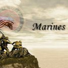Marines II #PT Personalized Gift First Name Meaning Print