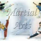 Martial Arts #PT Personalized Gift First Name Meaning Print