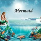 Mermaid #PT Personalized Gift First Name Meaning Print