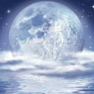 Moonlit Night #PT Personalized Gift First Name Meaning Print