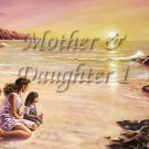 Mother Daughter I #PT Personalized Gift First Name Meaning Print