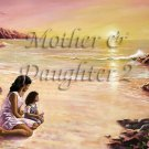 Mother Daughter II #PT Personalized Gift First Name Meaning Print