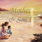 Mother Son I #PT Personalized Gift First Name Meaning Print