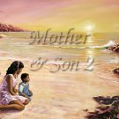 Mother Son II #PT Personalized Gift First Name Meaning Print