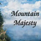 Mountain Majesty #PT Personalized Gift First Name Meaning Print