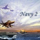 Navy II #PT Personalized Gift First Name Meaning Print