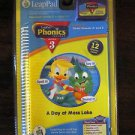 NIB NEW LEAP FROG LEAP PAD PHONICS LESSON 3 A DAY AT MOSS LAKE AGES 4-7