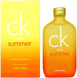 One Summer by Calvin Klein 3.4 oz Eau de Toilette
