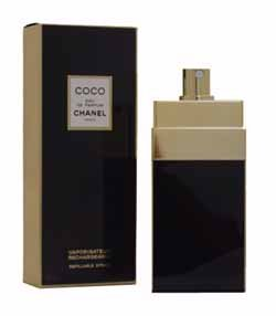 Coco by Chanel for Women 2.0 oz Eau de Parfum Spray Refillable