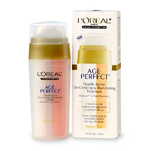 L'Oreal Dermo-Expertise Age Perfect, Double Action De-Crinkling & Illuminating Treatment