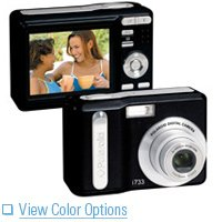 "Polaroid i733 7.0 Megapixel Digital Camera Black with 2.5"" TFT LCD Display"