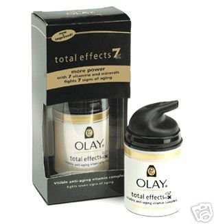 Oil Of OLAY Total Effects 7X Visible Anti-Aging Vitamin Complex 1.7 oz UVBA Fragrance Free