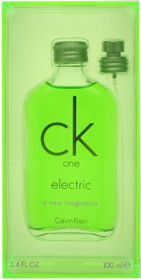 CK One Electric by Calvin Klein 3.4 oz Eau de Toilette Spray Limited Edition