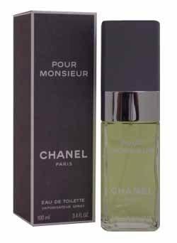 Pour Monsieur by Chanel for Men 3.4 oz Eau de Toilette Spray