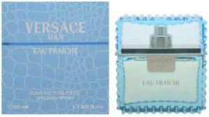 Versace Man Eau Fraiche by Gianni Versace for Men 1.7 oz Eau de Toilette Spray